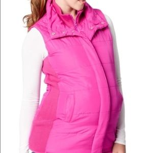 ISO Motherhood Pink Vest LARGE